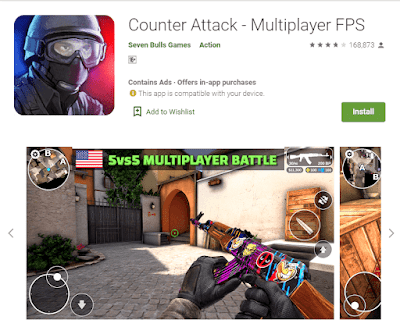 game counter attack android
