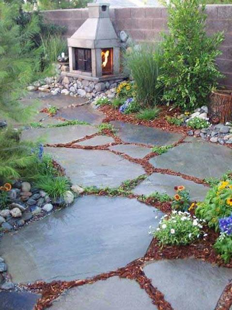 20 Creative Ideas For A Beautiful Garden Path Designs