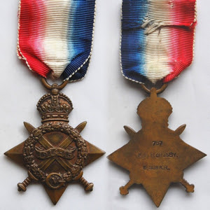 By Medal created and awarded by the British Government in 1919, image created by Col André Kritzinger [CC0 or Public domain], from Wikimedia Commons