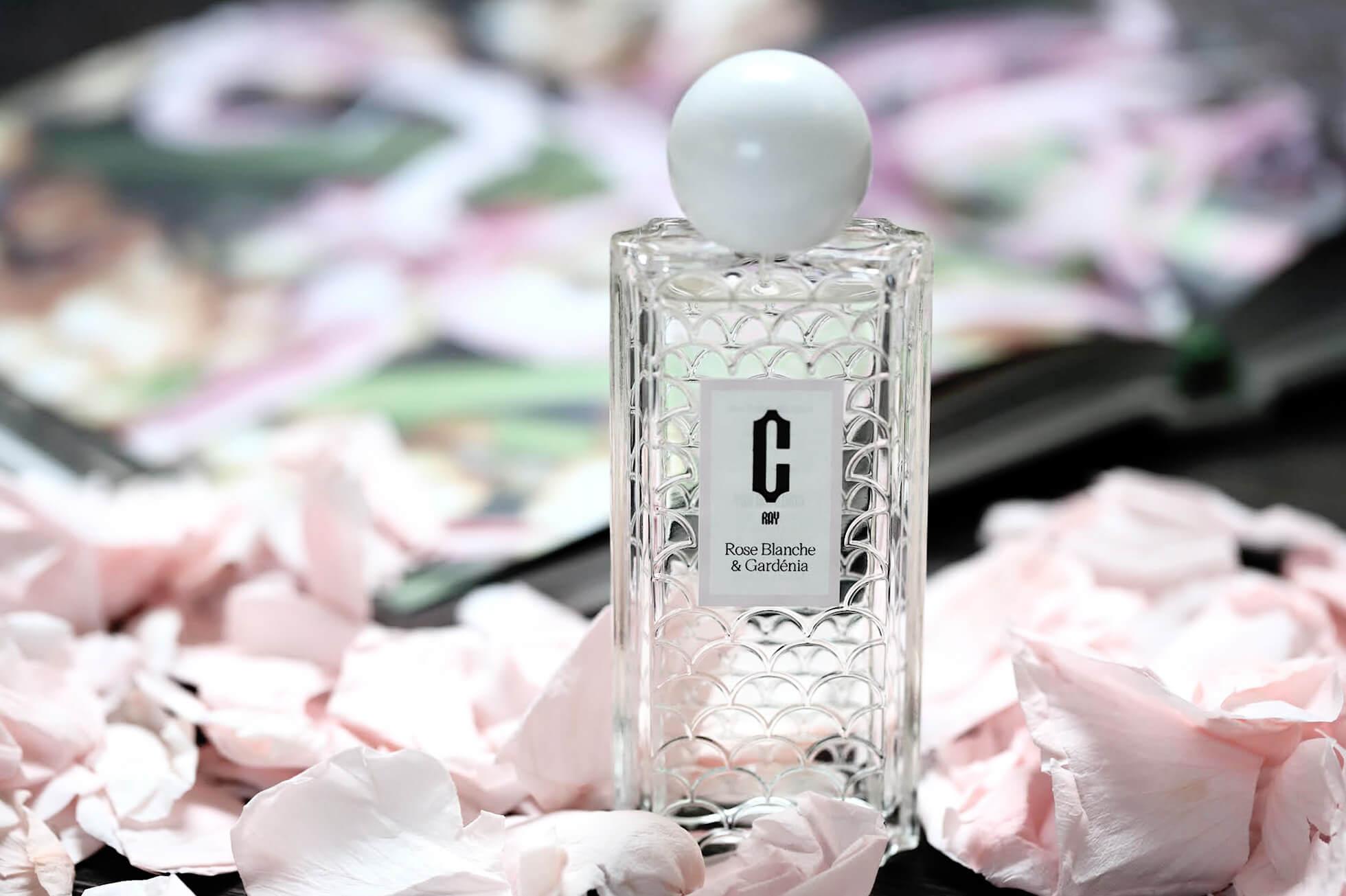 Carlotha Ray Rose Blanche Gardénia Parfum