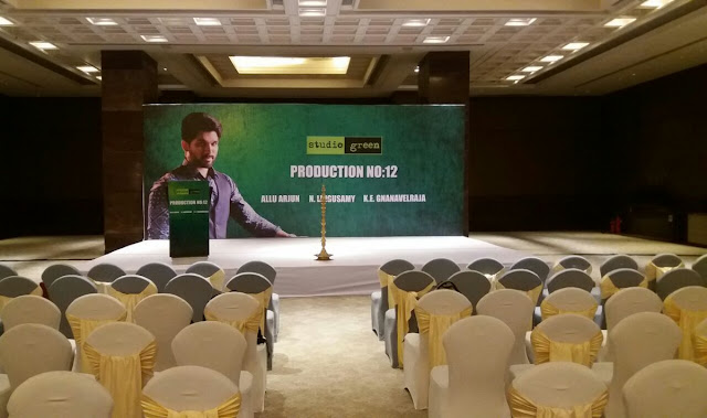 Allu Arjun,Linguswamy new movie Launch Photos