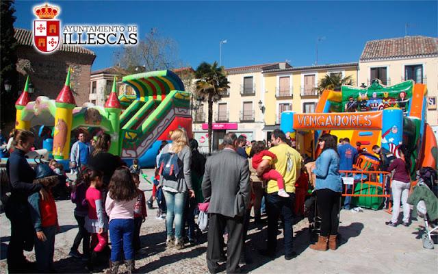 Fiestas del 11 de marzo en la localidad de Illescas. IMAGEN COMUNICACION ILLESCAS