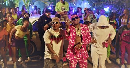 """A New Drop From Simba as Wasafi (WCB) Premieres the official music video for Diamond Platnumz joint with Focalistic – """"IYO"""""""