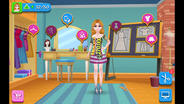 DIY Fashion Star Game Review 1080p Official Coco Play By TabTale