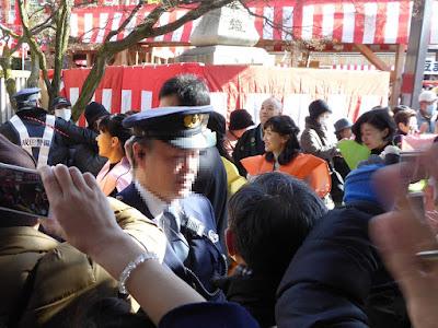 成田山節分祭 百田夏菜子 土村芳