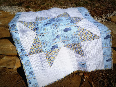 giant star quilt