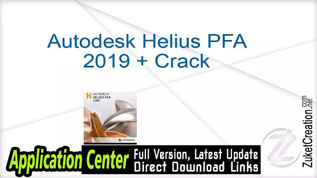 Autodesk Helius PFA 2019 + Crack