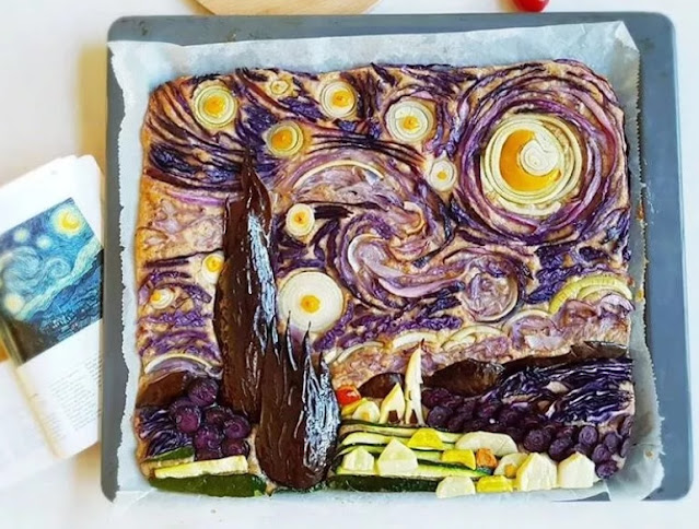 Essa até parece pintura de Vincent Van Gogh!