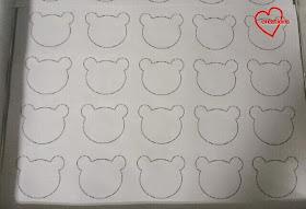 macaron baking sheet template - loving creations for you panda macarons with lemon and