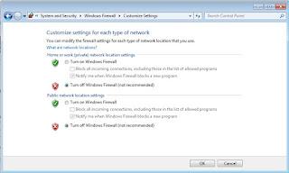 Cara Mudah Memenonaktifkan Firewall di Windows  Tutorial Gampang Memenonaktifkan Firewall di Windows 7