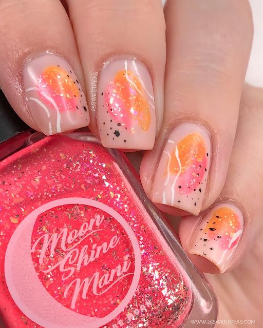 Easy Abstract Nail Art - 25 Sweetpeas