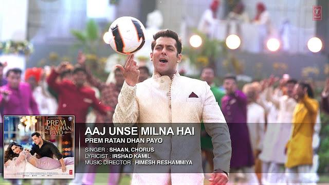 Aaj Unse Kehna Hai (Prem Ratan Dhan Payo) Song Lyrics - Shaan, Aishwarya Majumdar, Palak Muchhal