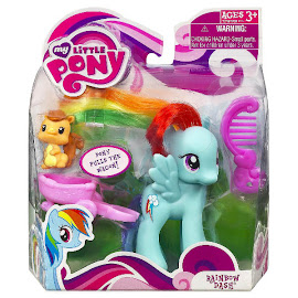 MLP Single Wave 1 Rainbow Dash Brushable Pony