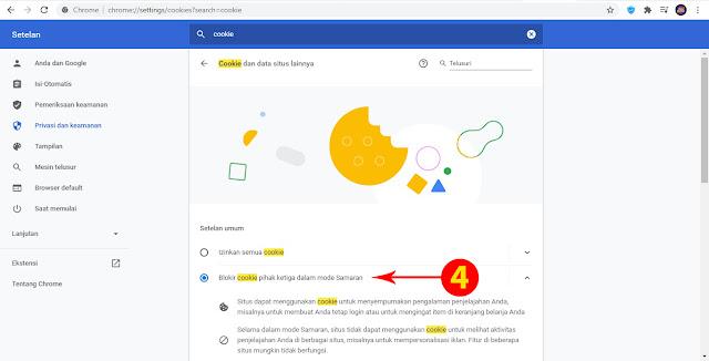Cara Non Aktif Mode Incognito pada Browser Google Chrome ANBK 2021