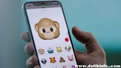 fitur emoji iphone x