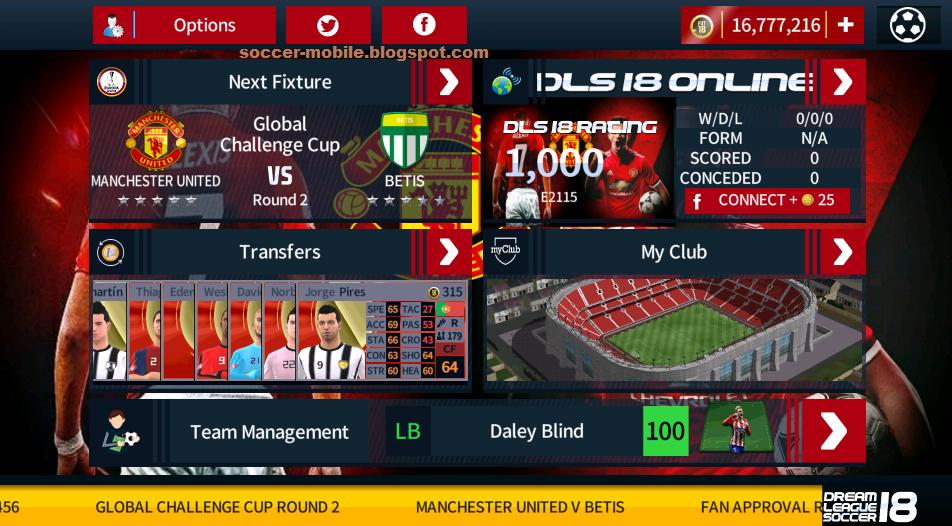 45145021399 Download DLS Mod Manchester United 2018 5.04 By Tomsakda