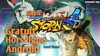 Jeu Gratuit Naruto Shippuden Ultimate Ninja Storm 4 MOD PPSSPP pour le dernier Android