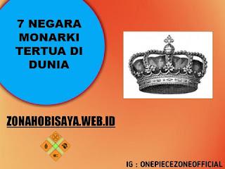 Negara Negara Monarki Tertua