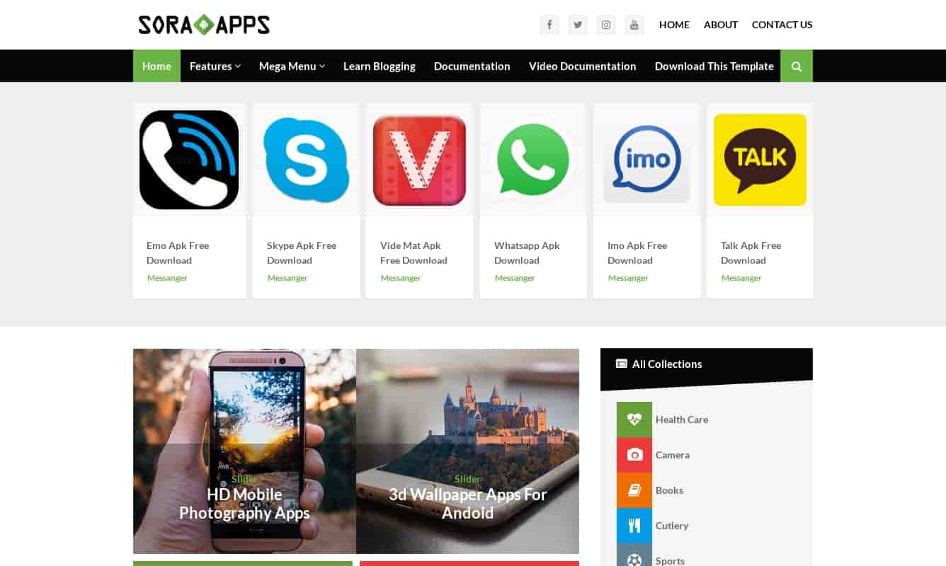 sora apps is a best blogger template,how to use latest sora app template, download latest sora apps template