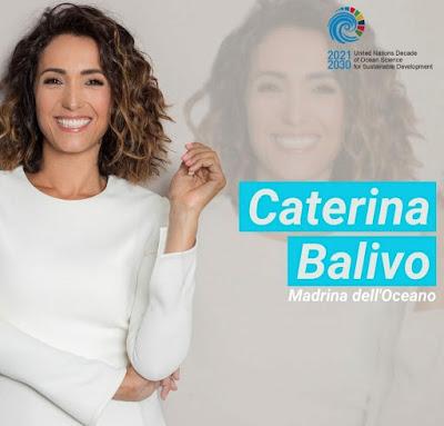 Caterina Balivo madrina dell'Oceano
