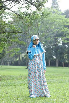 desain baju muslim anak