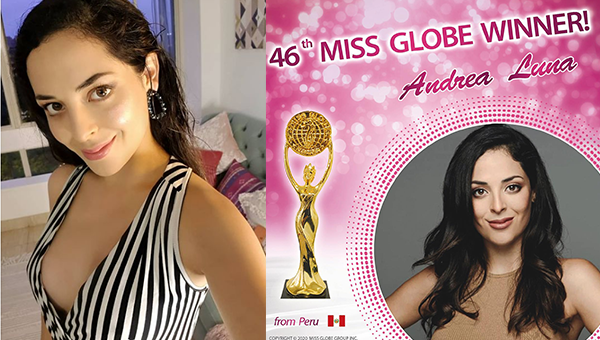 Miss Globe 2020 es Peru
