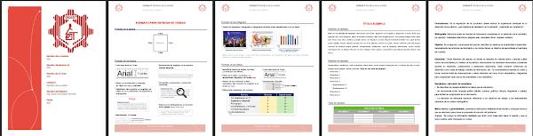 Portada química (E.S.T) | Formato para entregar prácticas y/o trabajos