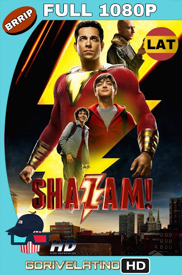 ¡Shazam! (2019) BRRip 1080p Latino-Ingles MKV