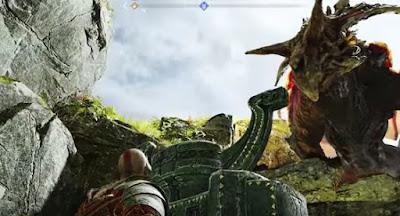 God of War, 2018, Dragon Fafnir