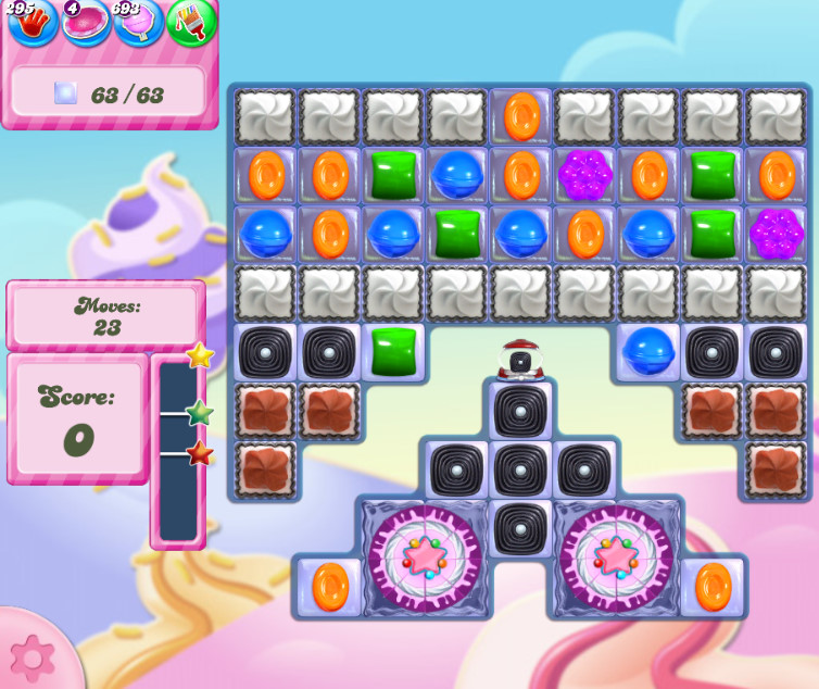 Candy Crush Saga level 28309