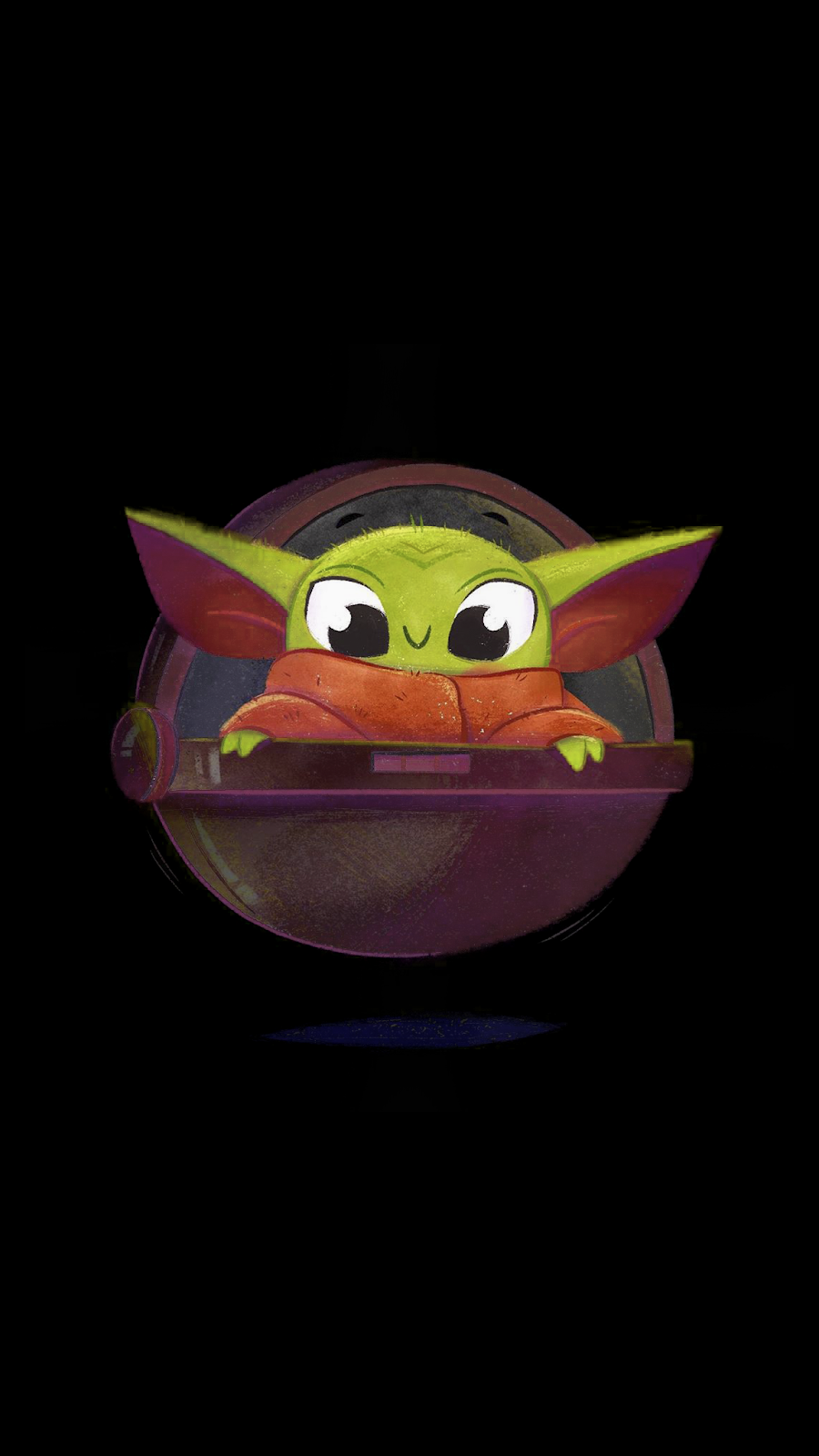 baby yoda wallpaper ios iphone android