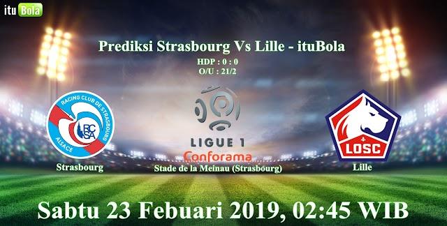 Prediksi Strasbourg Vs Lille - ituBola