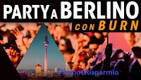 Logo Burn Energy House: vinci soggiorno a Berlino per 2 persone