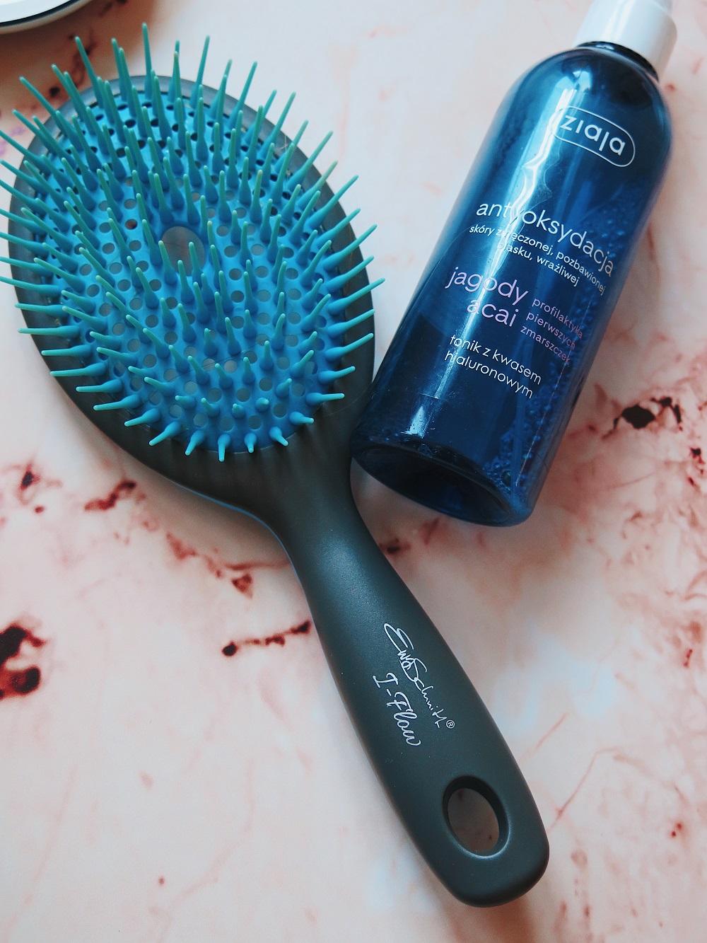 Włosing, olejowanie włosów na podkład.