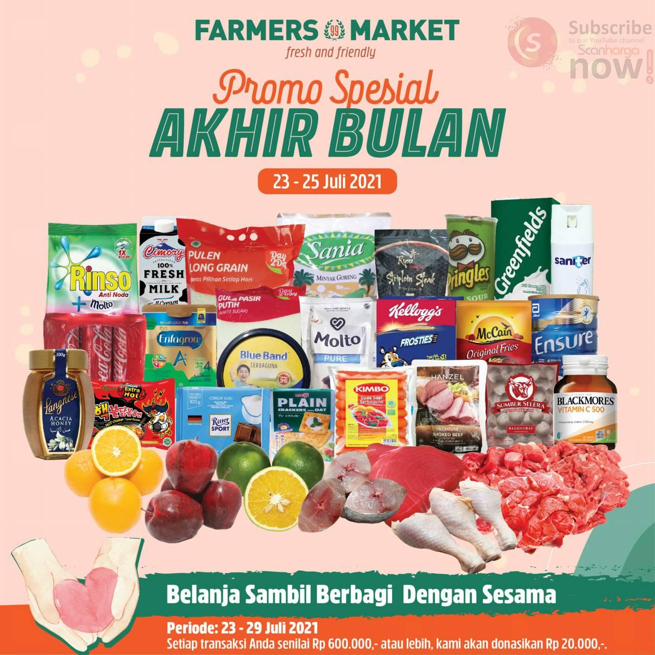 Katalog Promo Farmers Market Weekend 23 - 25 Juli 2021