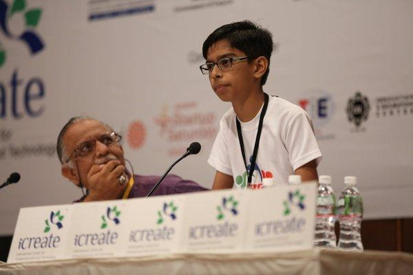 A 14 year old boy signs Rs 5-crore MoU for drones at Vibrant Gujarat Global Summit.