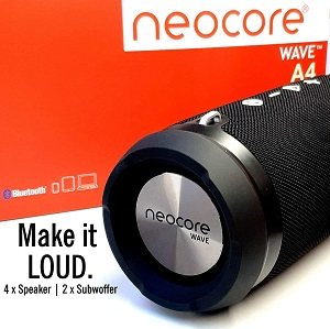 A great speaker, the neocore WAVE A4 50W