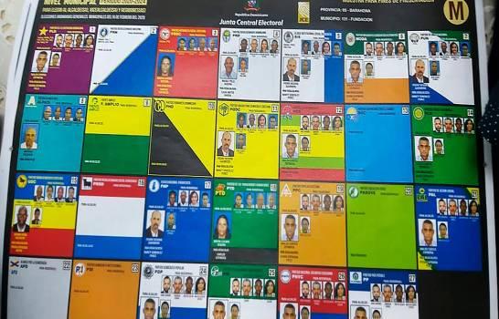 JCE y partidos validarán de manera virtual formatos de boletas a ser utilizadas en las elecciones de mayo