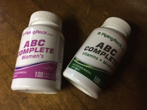 サプリメント・ABC/COMPLETE