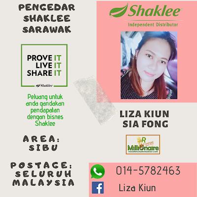 Pengedar Shaklee Sibu 0145782463