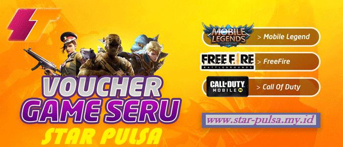 VOUCHER GAME STAR PULSA