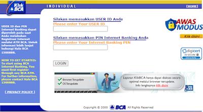 Cara Mudah Mendaftar IB BCA dan Mengoperasikannya