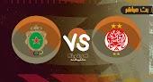 نتيجة مباراة الوداد الرياضي والجيش الملكي بتاريخ 28-07-2021 في الدوري المغربي