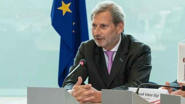 Hahn will für Mazedonien Beitrittsverhandlungen empfehlen