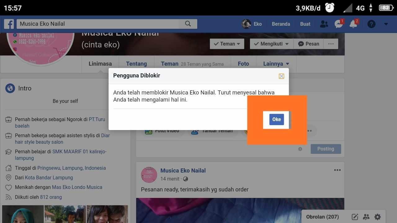 cara memblokir teman di facebook tanpa ketahuan