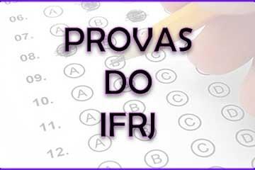 Faça o download das provas do IFRJ