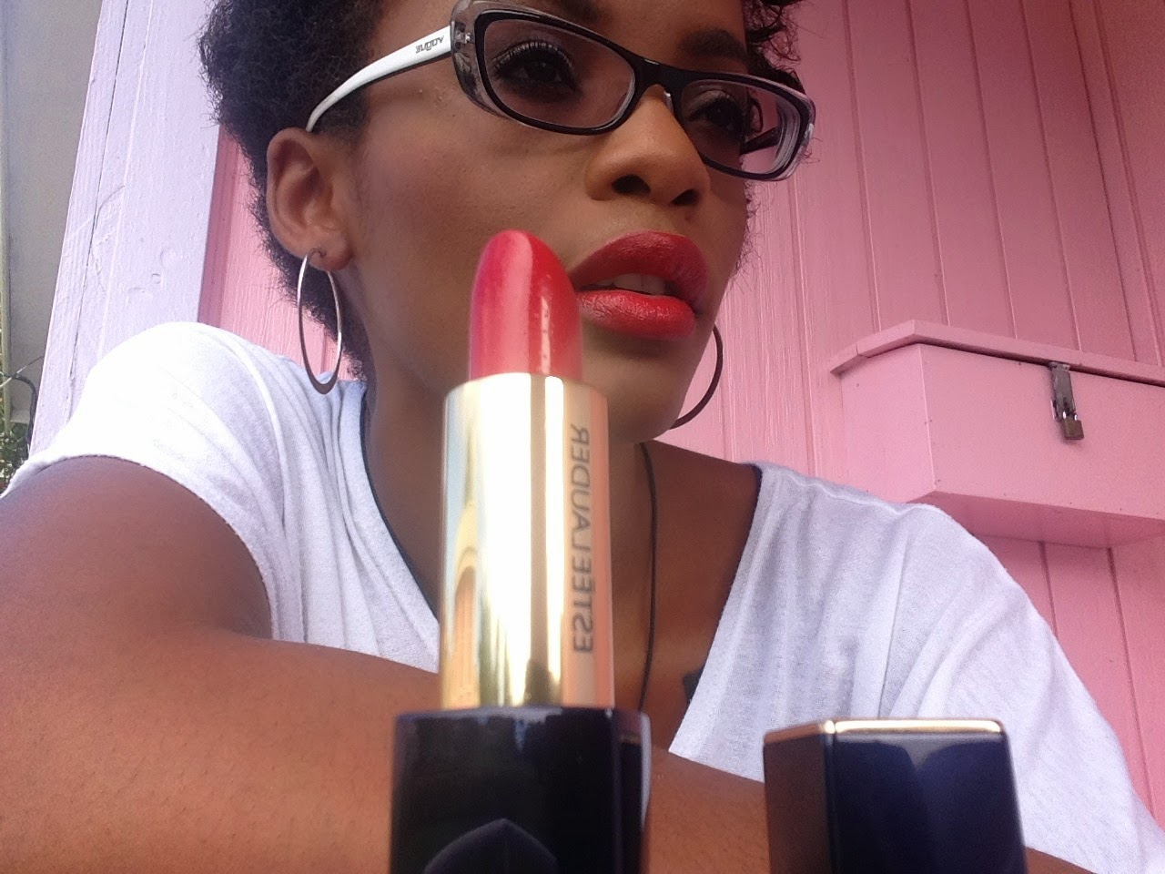 Estee Lauder Pure Color Envy Sculpting Lipstick 'Envious' swatch www.modenmakeup.com
