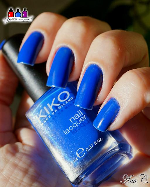Kiko, electric blue, azul elétrico, kiko 336,