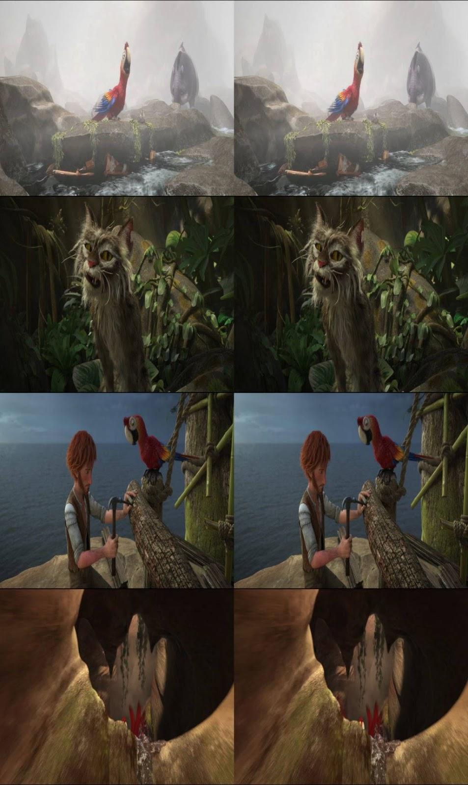 Las locuras de Robinson Crusoe (2016) 3D SBS Latino