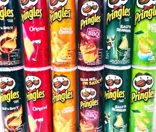 Seluk Beluk Keripik Kentang Pringles